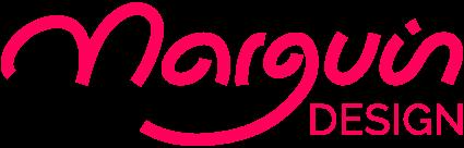 logo marguin design cerise